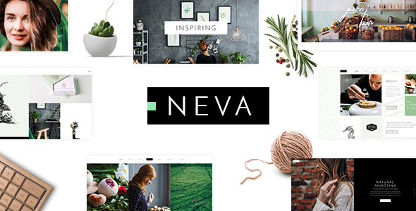 Image of Neva - An Alluring Multipurpose Creative Theme