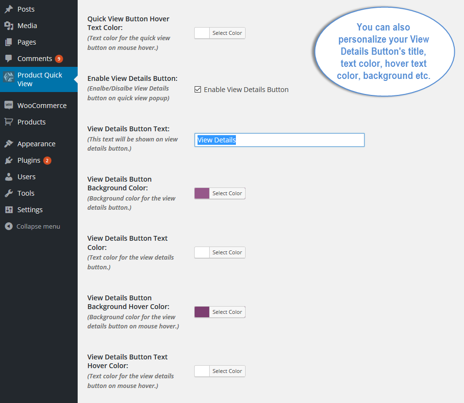 589ee3c06ccc2 ... View Screenshots 5 WooCommerce Product Quick View Plugin.png ...