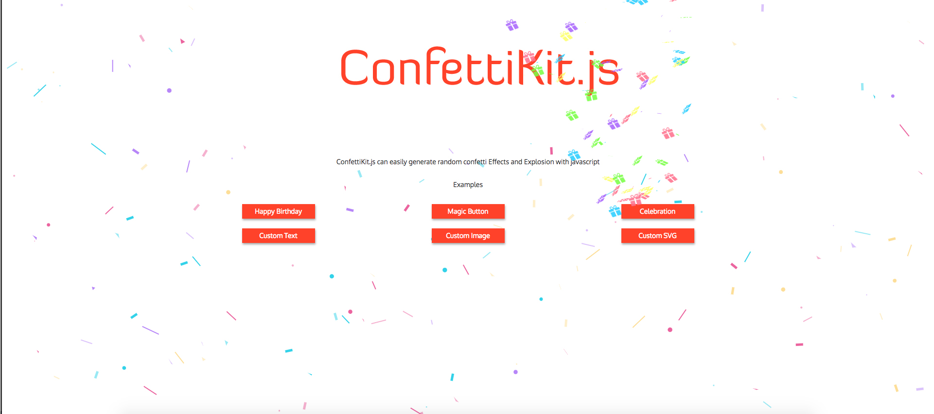 confettiKit | Confetti Explosion
