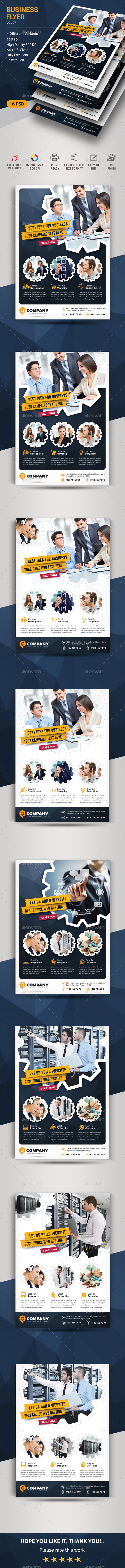 Business Flyer - Corporate Business Cards