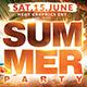 Summer Party Flye