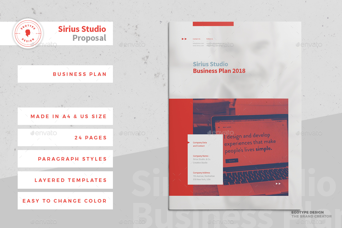 Business plan by egotype graphicriver business plan design project egotypeg accmission Images