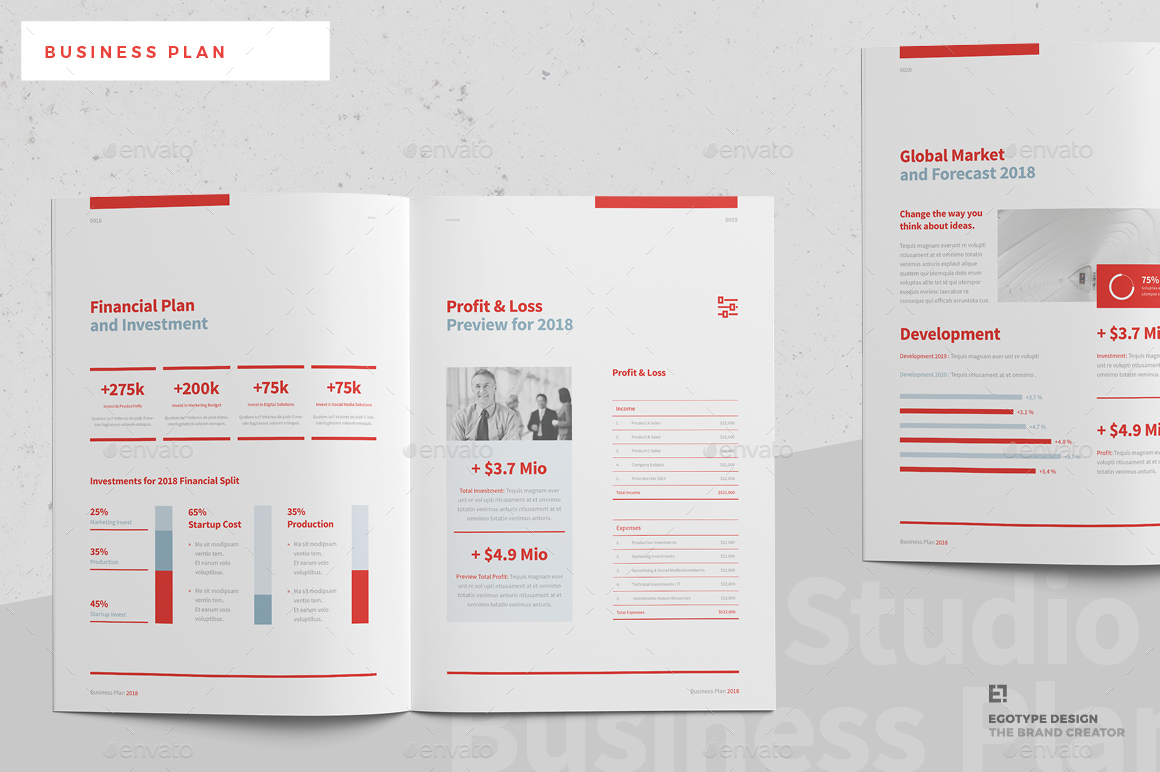 Business plan by egotype graphicriver - Business plan for web design company ...