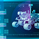 The Computer Interface Of The Space Ship - VideoHive Item for Sale