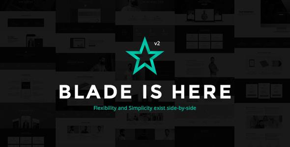 Blade - Responsive Multi-Functional Theme