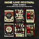 Indie Live Festival Flyer Bundle - GraphicRiver Item for Sale