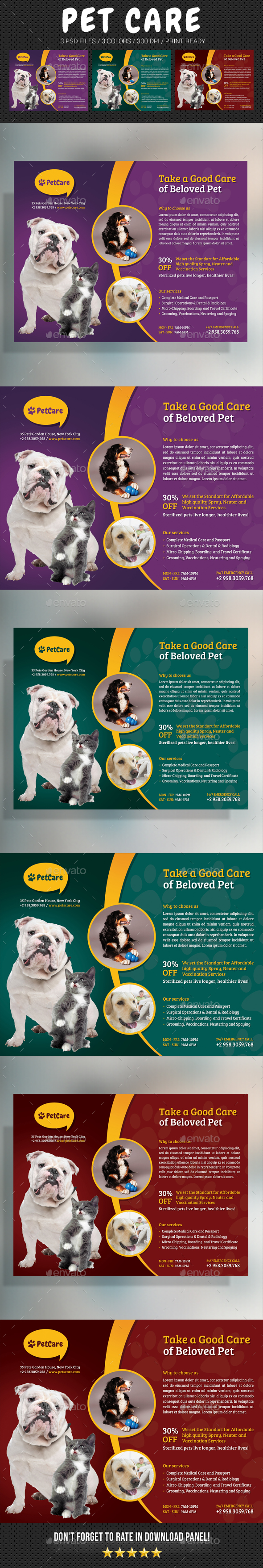 Pet Care Flyer - Corporate Flyers