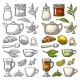 Cup Wit Tea and Branch with Leaves - GraphicRiver Item for Sale