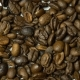 A Pile of Roasted Coffee Beans Rotating. Top View - VideoHive Item for Sale