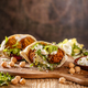 Falafel and fresh lettuce - PhotoDune Item for Sale