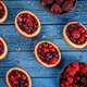 Tartlets with fresh red berries - PhotoDune Item for Sale