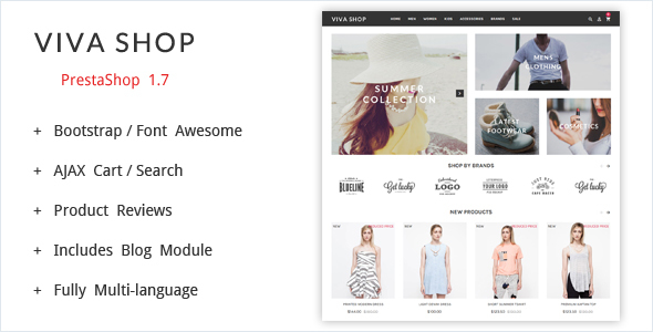 VivaShop - Prestashop Theme - PrestaShop eCommerce
