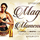 Magic Moments Flyer Template - GraphicRiver Item for Sale