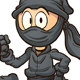 Cartoon Ninja - GraphicRiver Item for Sale