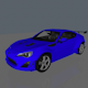 Subaru Brz - 3DOcean Item for Sale