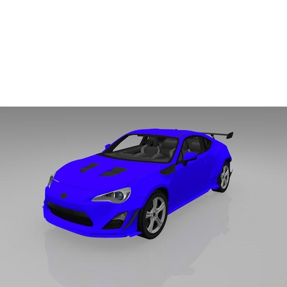 Subaru Brz - 3DOcean Item for Sale