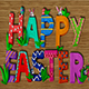 Clay Happy Easter, Logo Reveal - VideoHive Item for Sale