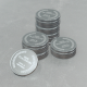 Platinum Coins Background Loop - VideoHive Item for Sale