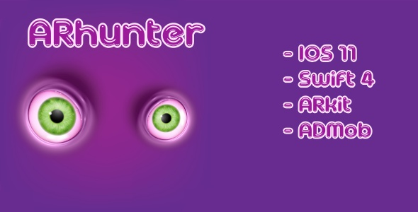 ARhunter | 3D Augmented Reality Game - CodeCanyon Item for Sale