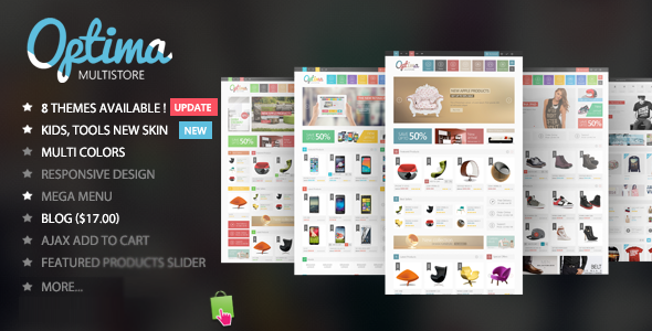 Image of Optima - Multipurpose  Responsive Prestashop 1.6 & 1.7 Theme