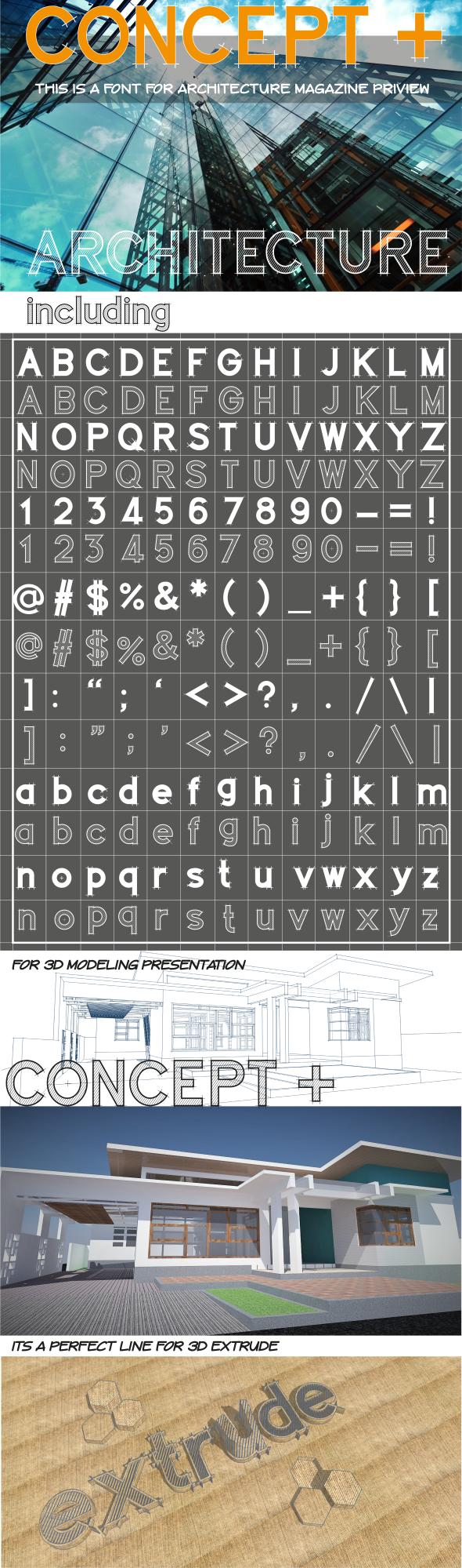 Concept+ - Sans-Serif Fonts