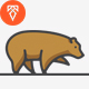Grizzly Logo Template - GraphicRiver Item for Sale