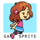 Pinky Girl Game Sprites