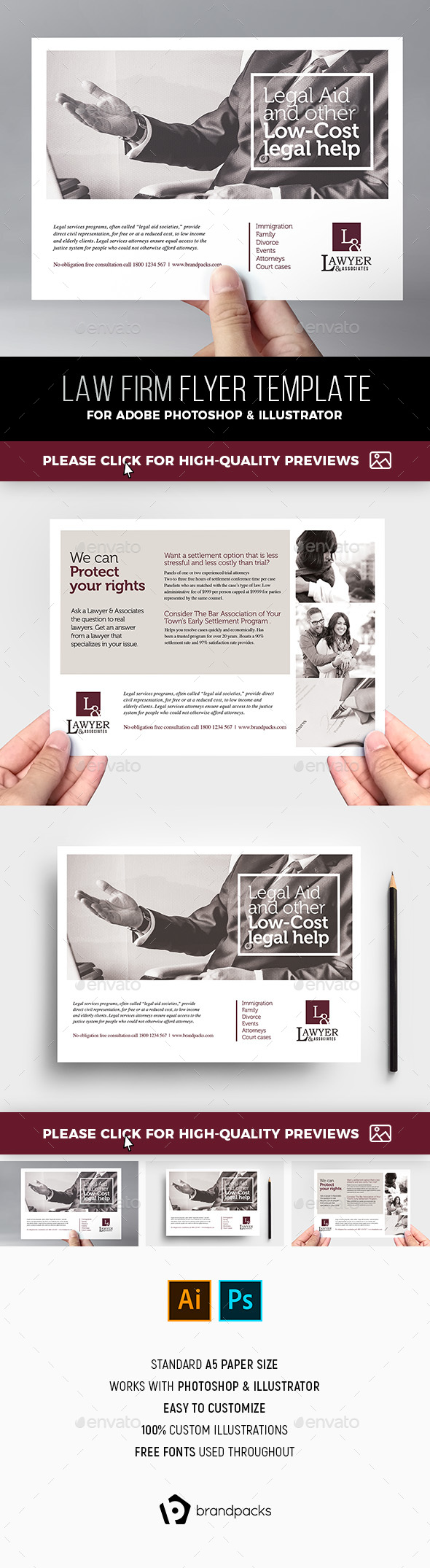 Law Firm Flyer Template - Corporate Flyers