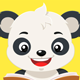 Panda Bear Reading a Brown Book - GraphicRiver Item for Sale