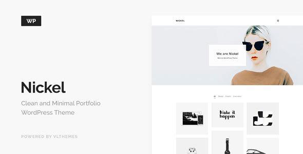 Nickel - Minimalist Portfolio WordPress Theme - Portfolio Creative