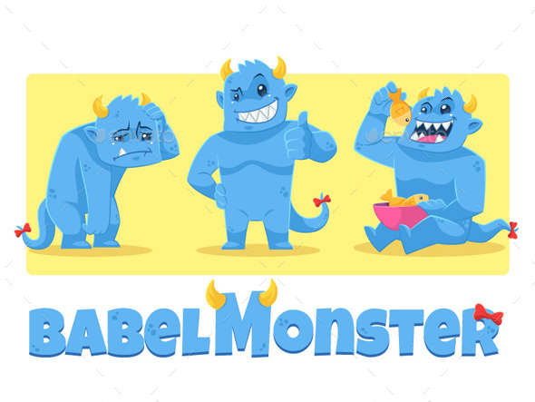 Babel Monster - Monsters Characters