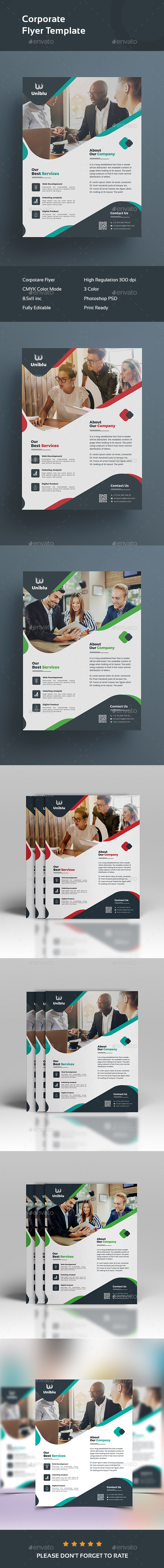 Flyer - Corporate Business Cards