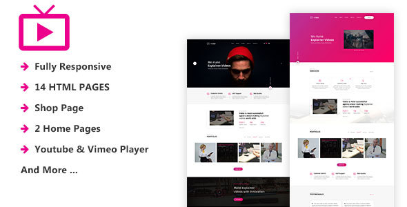 MaxVid - Video Agency HTML5 Template - Film & TV Entertainment
