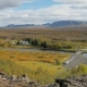 Panorama of National Park Thingvellir in Iceland in Sunny Autumn Day, View From Top - VideoHive Item for Sale