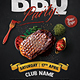 The BBQ Party Flyer - GraphicRiver Item for Sale