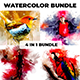Watercolor Photoshop Action Bundle - GraphicRiver Item for Sale