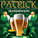 Saint Patricks Day Flyer Template V2 - GraphicRiver Item for Sale
