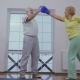 Senior Woman in Boxing Gloves Is Training with Her Husband - VideoHive Item for Sale