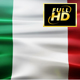 Italian Flag Waving - VideoHive Item for Sale
