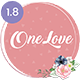 OneLove - The Elegant & Clean Multipurpose Wedding WordPress Theme - ThemeForest Item for Sale