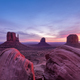 Colorful sunrise landscape view at Monument valley national park - PhotoDune Item for Sale