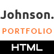 JHONSON - Minimal Portfolio HTML5 Template - ThemeForest Item for Sale