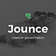 Jounce Google Slides - GraphicRiver Item for Sale