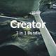 3 in 1 Creator Bundle - Creative Powerpoint Template