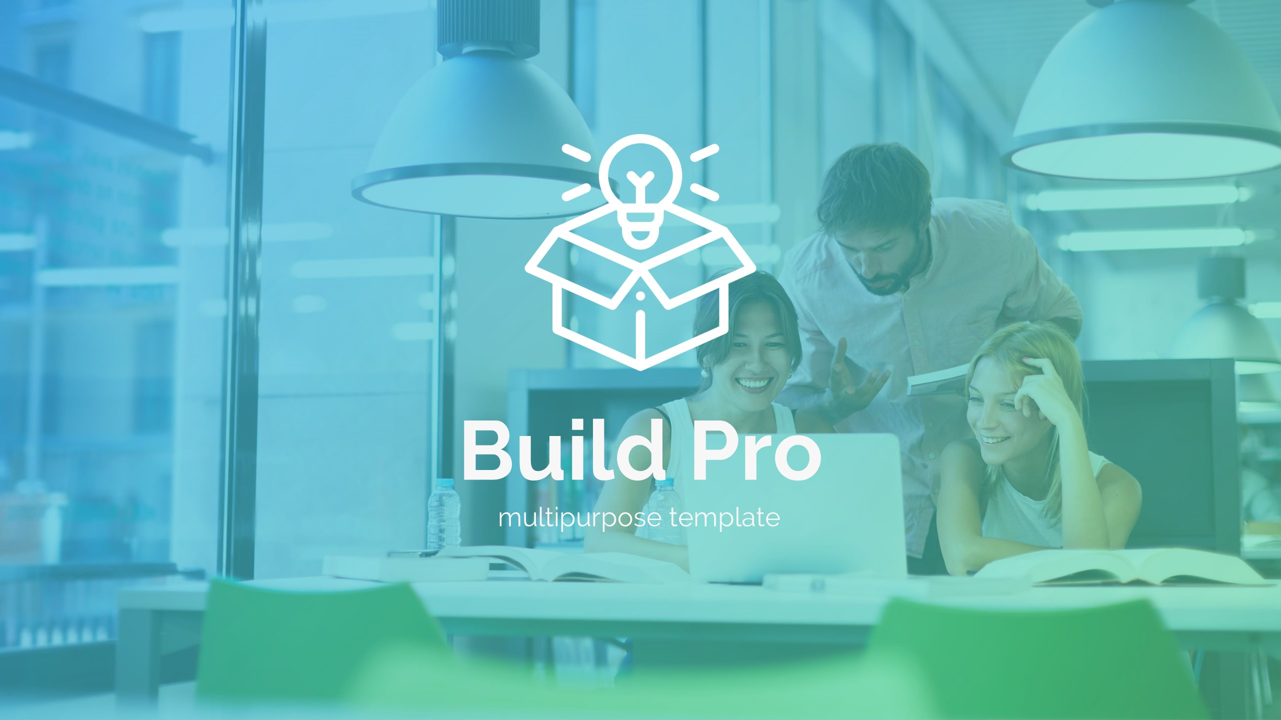 Build Pro Business Powerpoint Template