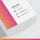 Business Card Square Mockup
