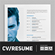 Minimalist CV / Resume Vol. 02 - GraphicRiver Item for Sale