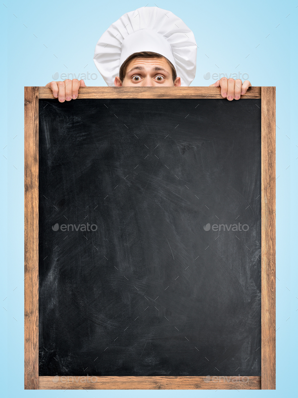 Blackboard for menu. - Stock Photo - Images