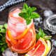 Grapefruit and fresh mint cocktail with juice - PhotoDune Item for Sale
