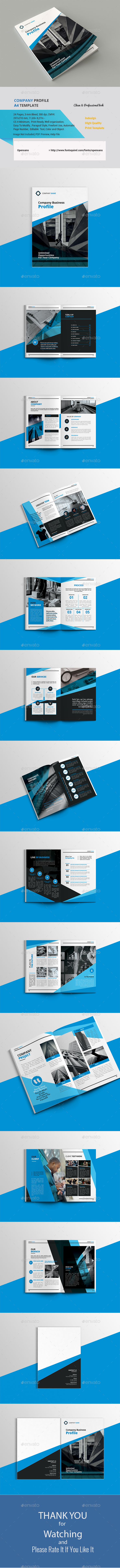 Company Business Profile V.5 - Corporate Brochures